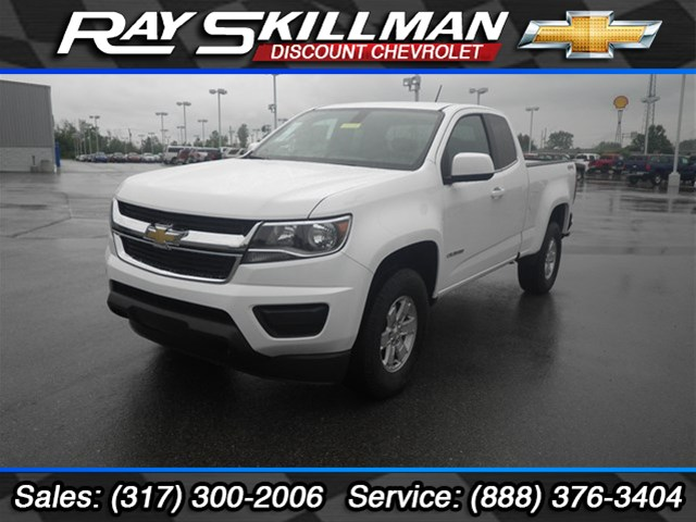New Chevrolet Colorado WT